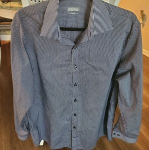 NWOT Kenneth Cole Reaction Mens Button Down